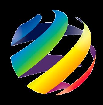 dice logo colorful